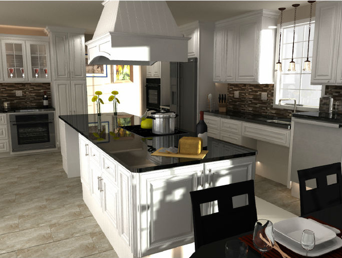 Biltmore Pearl Kitchen Cabinets - Now On Sale
